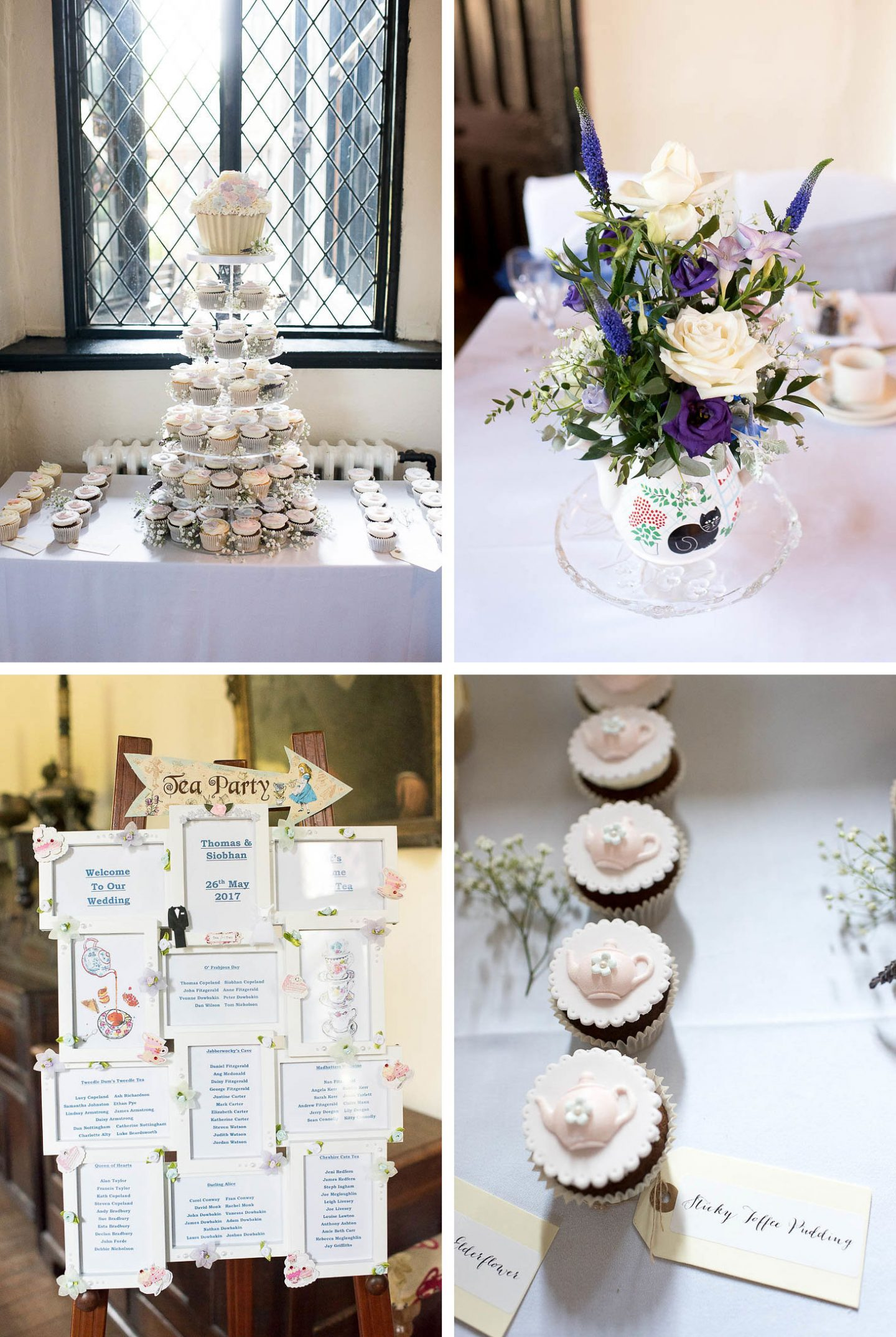 SIOBHAN & TOM\'S ALICE IN WONDERLAND THEMED WEDDING - LucieMua