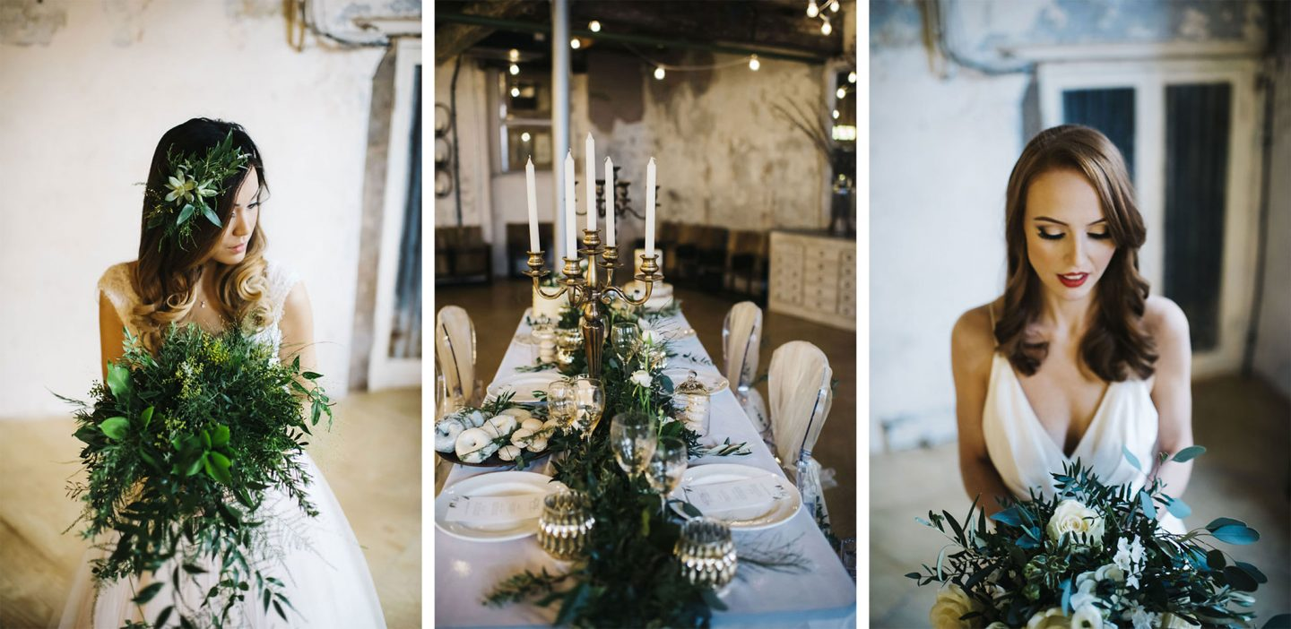 BOTANICAL LUXE STYLED SHOOT