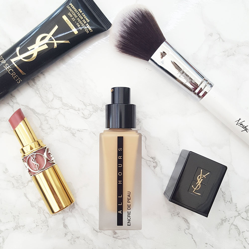 HAVE YOU TRIED THE NEW YSL FOUNDATION?