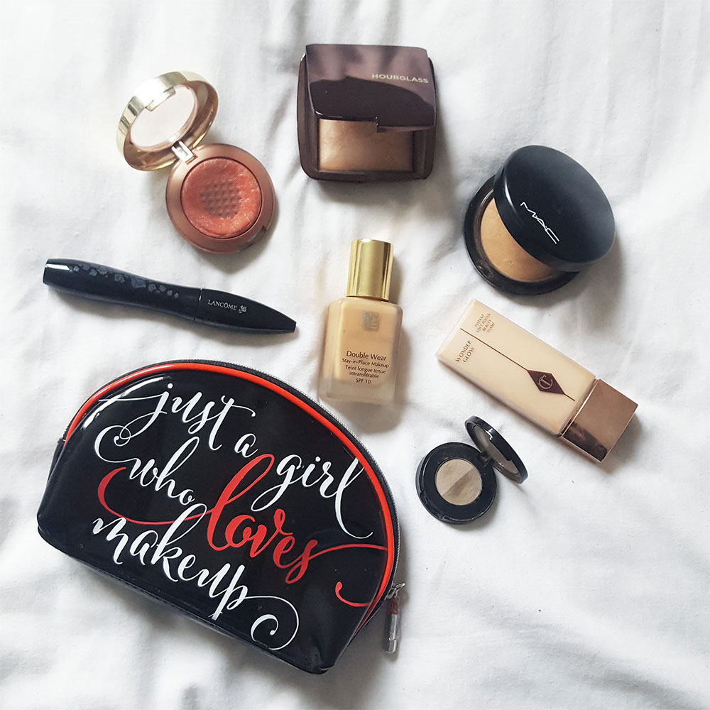 Whats in my personal makeup bag