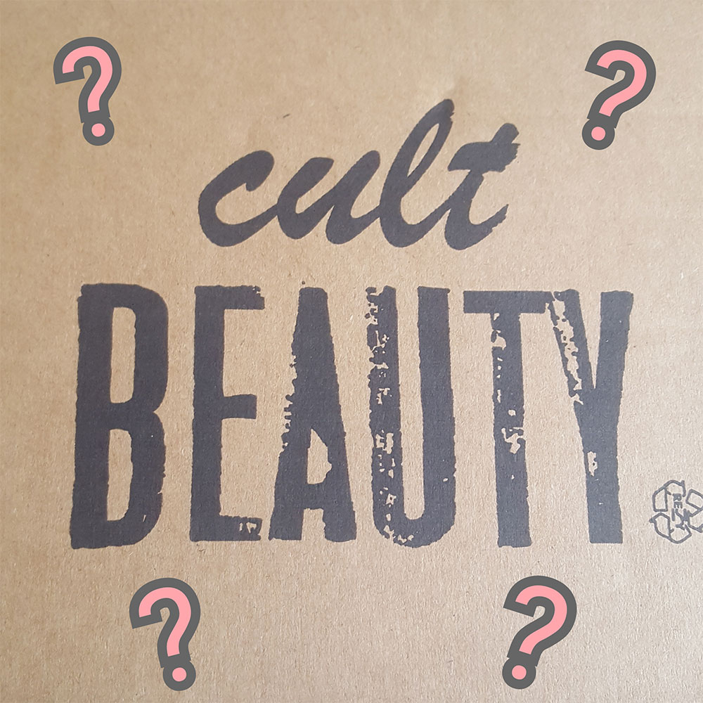 WHAT'S IN THE CULT BEAUTY BOX?