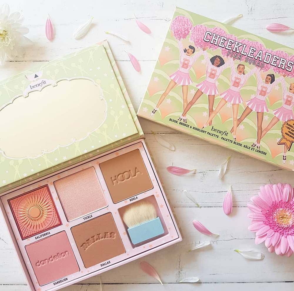 BENEFIT CHEEKLEADERS – THE MUST HAVE PALETTE